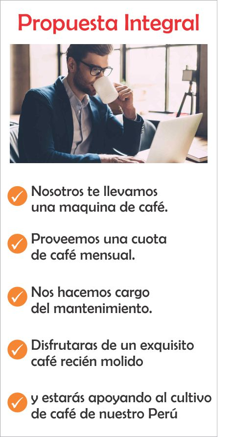 propuesta integral de cafe